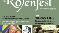 Das Rosenfest findet heuer am 13. Juli statt mit folgendem Programm:  Kindernachmittag mit 15.30h […]