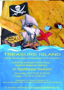 Theaterplakat Treasure Island